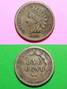 1859 Indian Head Cent Penny Exact Coin Shown Fast Flat Rate Shipping Oce 153