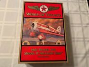 Wings Of Texaco 1930 Travel Air Model R Mystery Ship 5th In Series