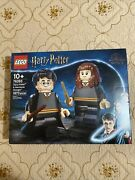 Lego Harry Potter And Hermione Granger 76393 1673 Pcs - Fast Shipping