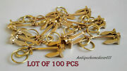 Nautical Brass Vintage Collectible Marine Anchor Key Chain Lot Of 100 Pcs Gift