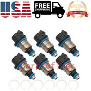 37003-804841 Set Of 6 Fuel Injectors Fits For Mercury Outboard 150hp Dfi Optimax