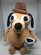This Is Fine Internet Meme 12 Dog Plush W/ Coffee Cup 2020 Dumpster Fire