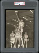 Connie Hawkins 1967 Rookie Pittsburgh Pipers Aba Type 1 Original Photo