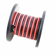Rubber Silicone Dual Core Parallel Stranded Cable Soft Wire Cables 10-24awg