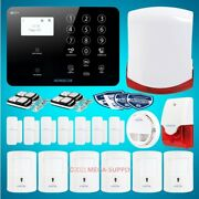 Homsecur Wirelessandwired 4g Lcd Home House Pet-immune/friendly Alarm System
