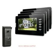 7inch Wired Video Security Door Phone With Ir Night Vision For Home Security