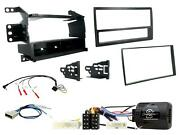 Set Panel And Commands Steering Wheel Iso 1 Din Compatible Nissan Juke 2011 A 2014