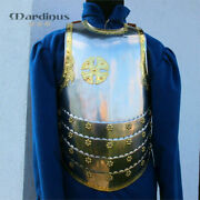 Larp Medieval Knight Armor Hussars Cuirass Chest And Back Templar Armour Costume