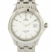 Secondhand Omega Wristwatch Seamaster 120m Silver Mens Fashionable Itand039s Cool.