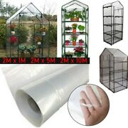 Walk In Greenhouse Pvc Plastic Garden Grow Green House Cover Replacement