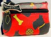 Nwtdooney And Bourkered Scottie Dogsmall Coin Purse Wallet21143m S166