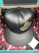 Disney D23 Expo Pirates Of The Caribbean 50th Anniversary Leather Hat Cap Le 230