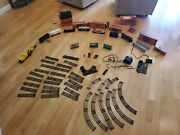 Vintage Lionel Train Lot O Scale. Over 30and039 Of Track Owned By 1 Family