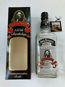 Jack Daniels 150th Birthday Empty Bottle 750 Ml With Box Hang Tag And Cap