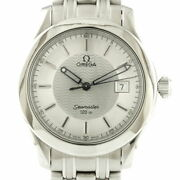 Secondhand Omega Ss Wristwatch 120m Seamaster 1501/823 Silver Mens Fashionable