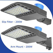 200w Led Street Light Commercial Outdoor Ip65 Waterproof Area Security Road Lamp