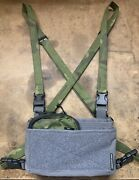 Spiritus Systems Micro Fight Wolf Grey Chest Rig Bundle + Midwest Tactical + Axl