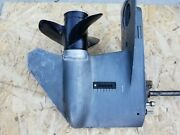 1987 Mariner Outboard 45hp Lower Unit Gearcase 20 9539a79539a5