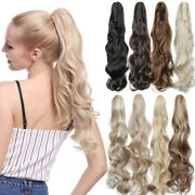 As Human Hair Piece Scrunchie Clip In Hair In Hair Extensions Ponytail Holder