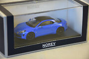 Norev 517868 - Alpine A110s 2019 Alpine Blue And Carbon Roof 1/43