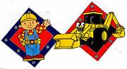Bob Builder Tractor Wall Safe Sticker Border Cut Out 6.5 To 10.5 Inch