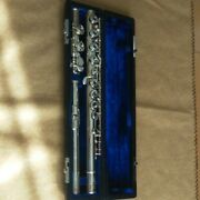 Sankyo Flute Silver Sonic C Tube With New E Mechanism Silver Tube In Japan