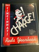1963 Cincinnati Reds Yearbook In Quality Protected Condition