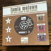 New / Tamla Motown Big Hits And Hard To Find Classics, Vol. 1-3 - Various Artis..