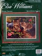 Elsa Williams Crewel Embroidery Kitdouble Troubledesigned By Rosemary Millette