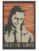 Loki - For All Time. Always Poster