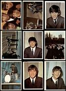 1964 Topps Beatles Color Complete Set 3.5 - Vg+