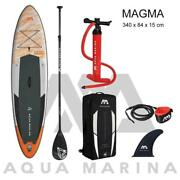 Set Inflatable Surf Board Stand Up Paddle Water Marina Pedal Sup Sport Leash