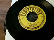 Elvis Presley Baby Letand039s Play House 45 Record Sun 217 M- Iand039m Left Your Right