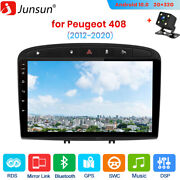 9 Car Radio Gps For Peugeot 408 2012-2020 2din Android 10.0 Sat Nav Bt Dab Wifi
