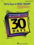 Thirty Days To Music Theory Classroom Resource Ready-to-use Lessons And New