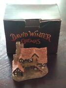 David Winter The Bothy Village Cottage Hand Painted Great Britain 1983
