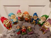 Lot Of Vintage Gnome Elf Figurines 10 Total. 7 Muscians Hand Made In Japan 6