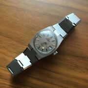 Omega Antique Vintage Geneva Silver Dial Hand-wound Women And039s Wristwatch