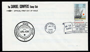 1988 Connecticut Statehood 200th 2340 - Samuel Gompers Stamp Club Fdc Qc77