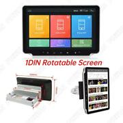 1-din Android 9.1 Car Multimedia Radio Gps Player Adjustable 10.1 Touch Screen