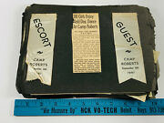 1940and039s Camp Roberts Ca Military Photo Album 60+ Lucille Ball Iso Soldiers