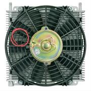 Flex-a-lite 114213 Remote Mount Stacked Plate Transmission Cooler With Fan 29-ro