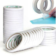 5m/8m White Super Strong Double Sided Adhesive Tape Paper Double-sided Tayjaw