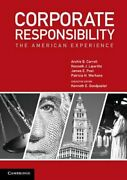 Corporate Responsibility The American Experience By Archie B. Carroll New