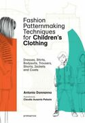 Fashion Patternmaking Techniques For Children's Clothing Dresses, Shirts, New