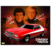 David Soul And Paul Michael Glaser Autographed Starsky And Hutch 11x14 Photo