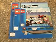 Lego Manuals Only 1-3 City Bank And Money Transfer 3661