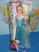 Disney Frozen Princess Elsa Of Arendelle Y9960 Sparkle Doll Brand New And Rare