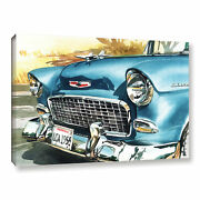 Artwall Bill Drysdale And039 Cool 55 And039 Gallery-wrapped Canvas Small