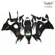 Ft Injection Plastic Glossy Black Fairing Fit For Kawasaki 2008-2010 Zx10r A017